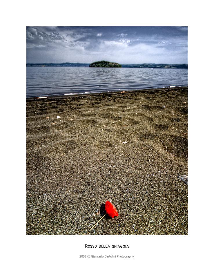 Rosso Sulla Spiaggia.