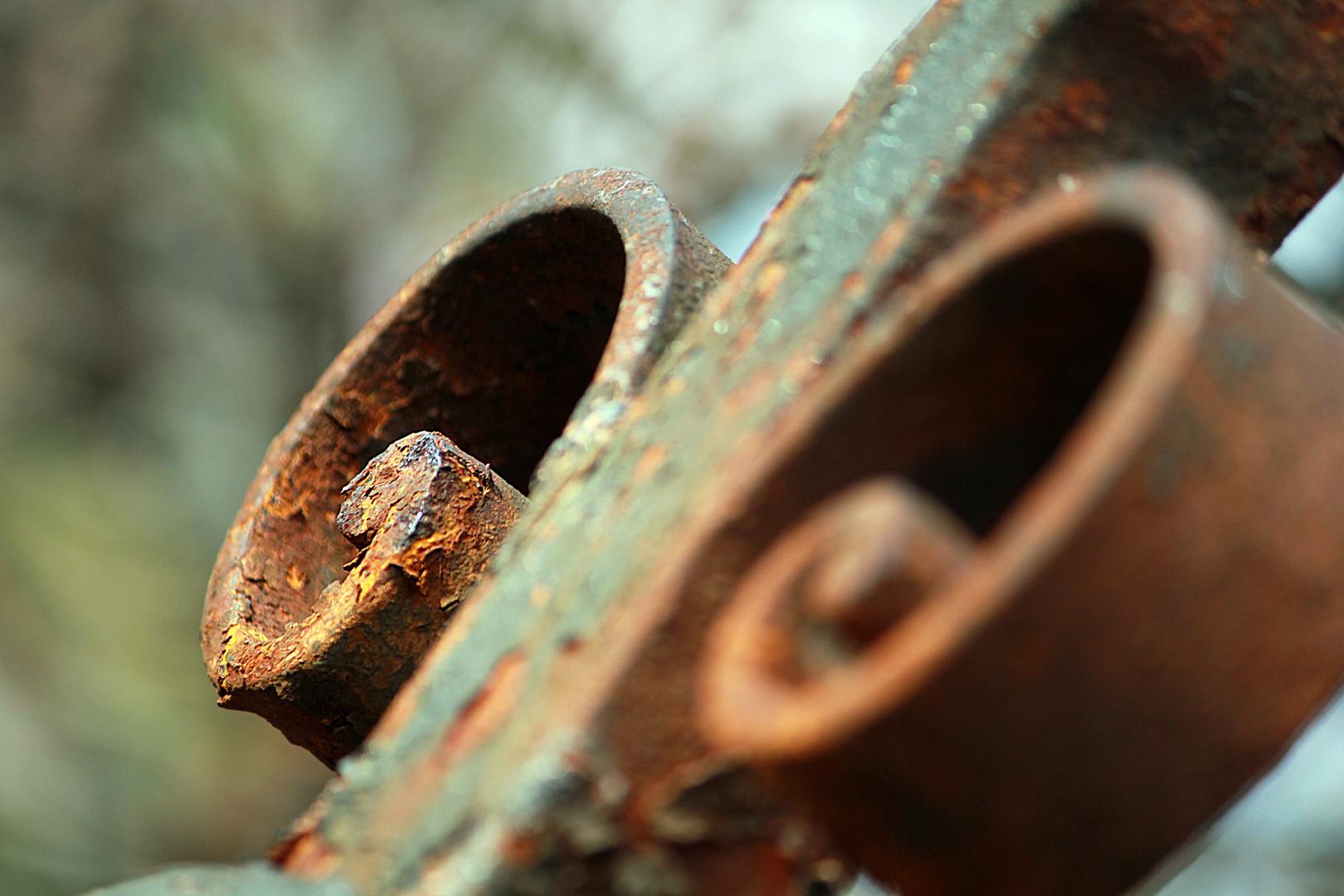 Rostiger Zaun Foto Bild Architektur Lost Places Fotos Bilder