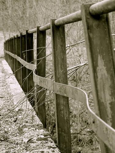 Rostiger Zaun Mono Foto Bild Landschaft Zaune Co Zaune