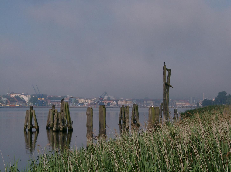 Rostock, an der Warnow