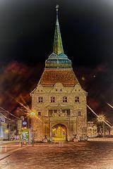 Rostock bei Nacht 3