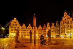 Rostock bei Nacht 4