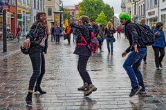 Rostock demonstriert friedlich (18)