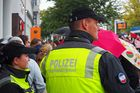 Rostock demonstriert friedlich (20)