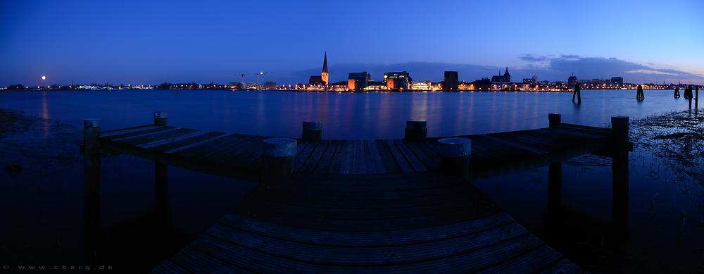 Rostock Panorama Skyline