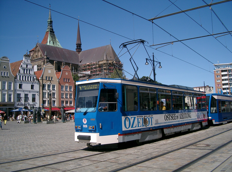 Rostock RSAG 809 im August 2005