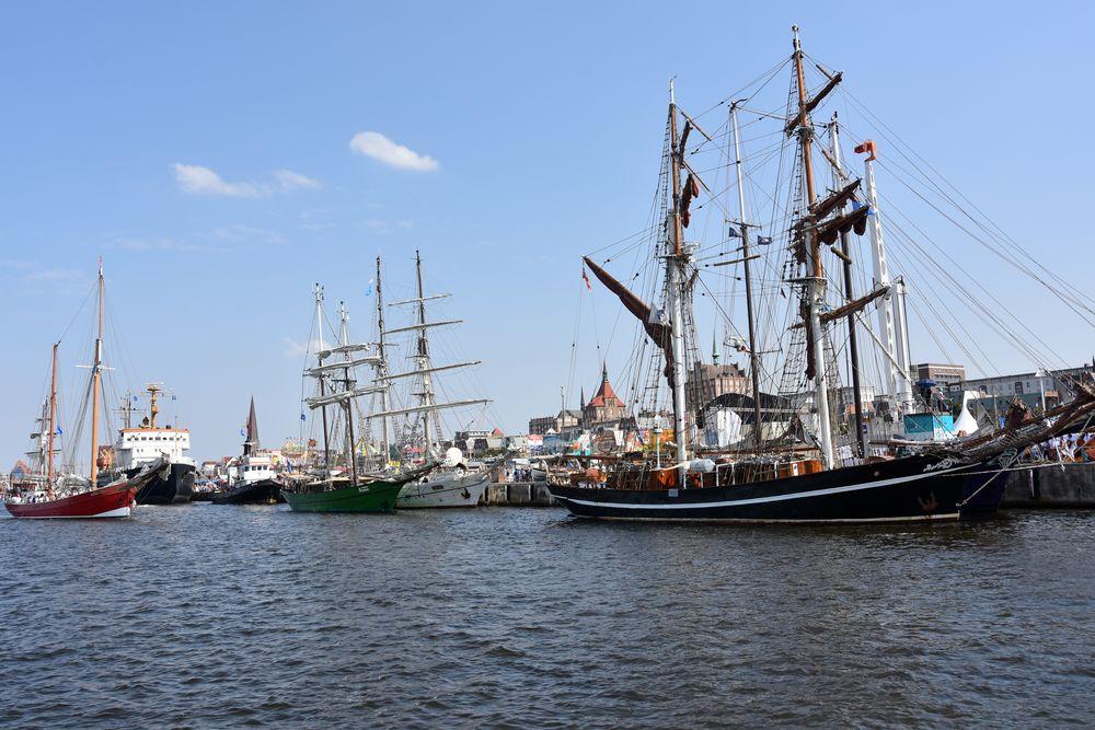Rostock zur Hanse Sail 2018