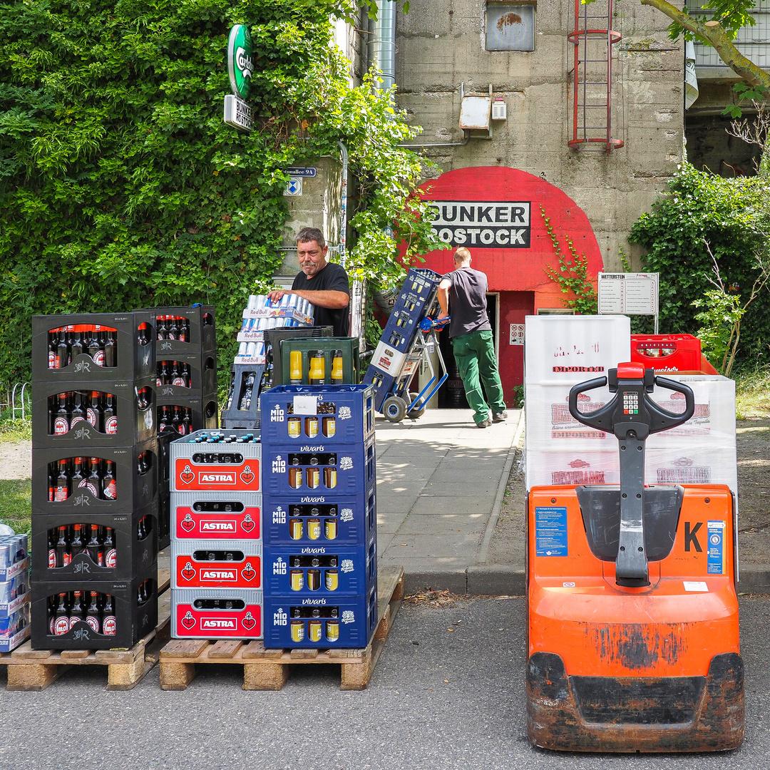Rostocker Party-Bunker bunkert Getränke