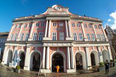 Rostocker Rathaus - Januar 2021