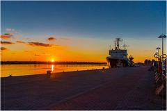 Rostocker Sonnenaufgang