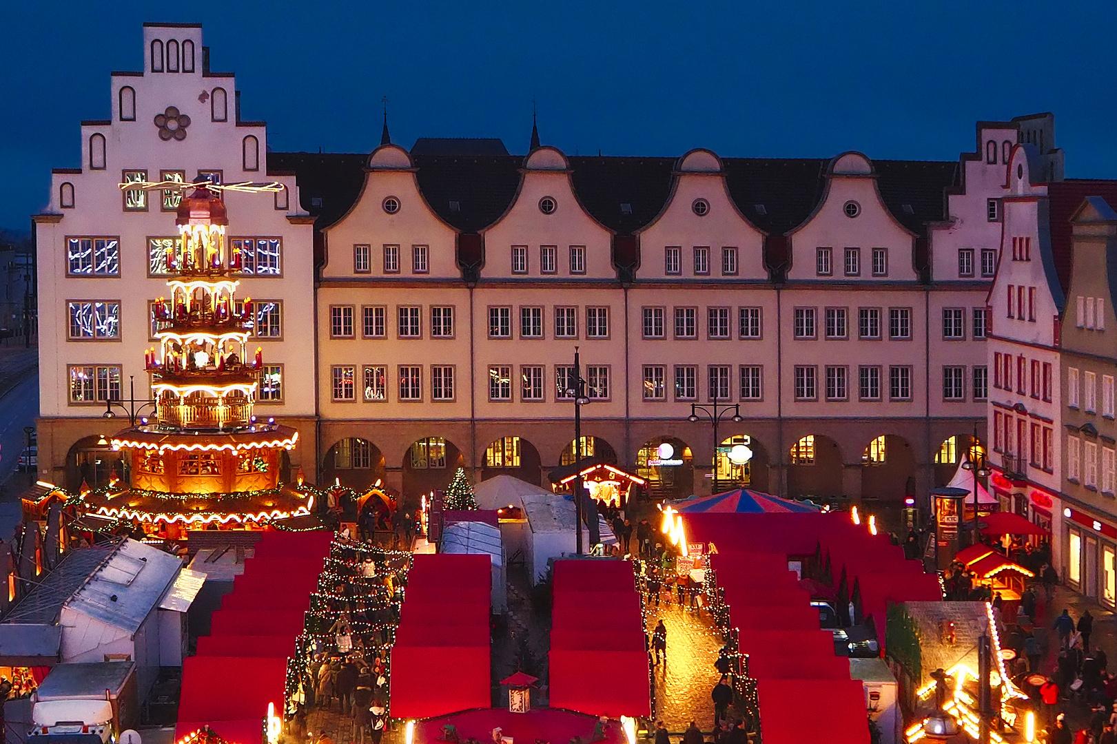 Weihnachtsmarkt In Rostock.Rostocker Weihnachtsmarkt 2017 Foto Bild Architektur