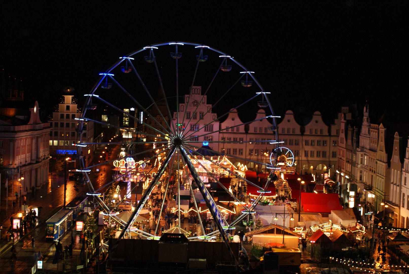 Weihnachtsmarkt In Rostock.Rostocker Weihnachtsmarkt Foto Bild Architektur Architektur Bei