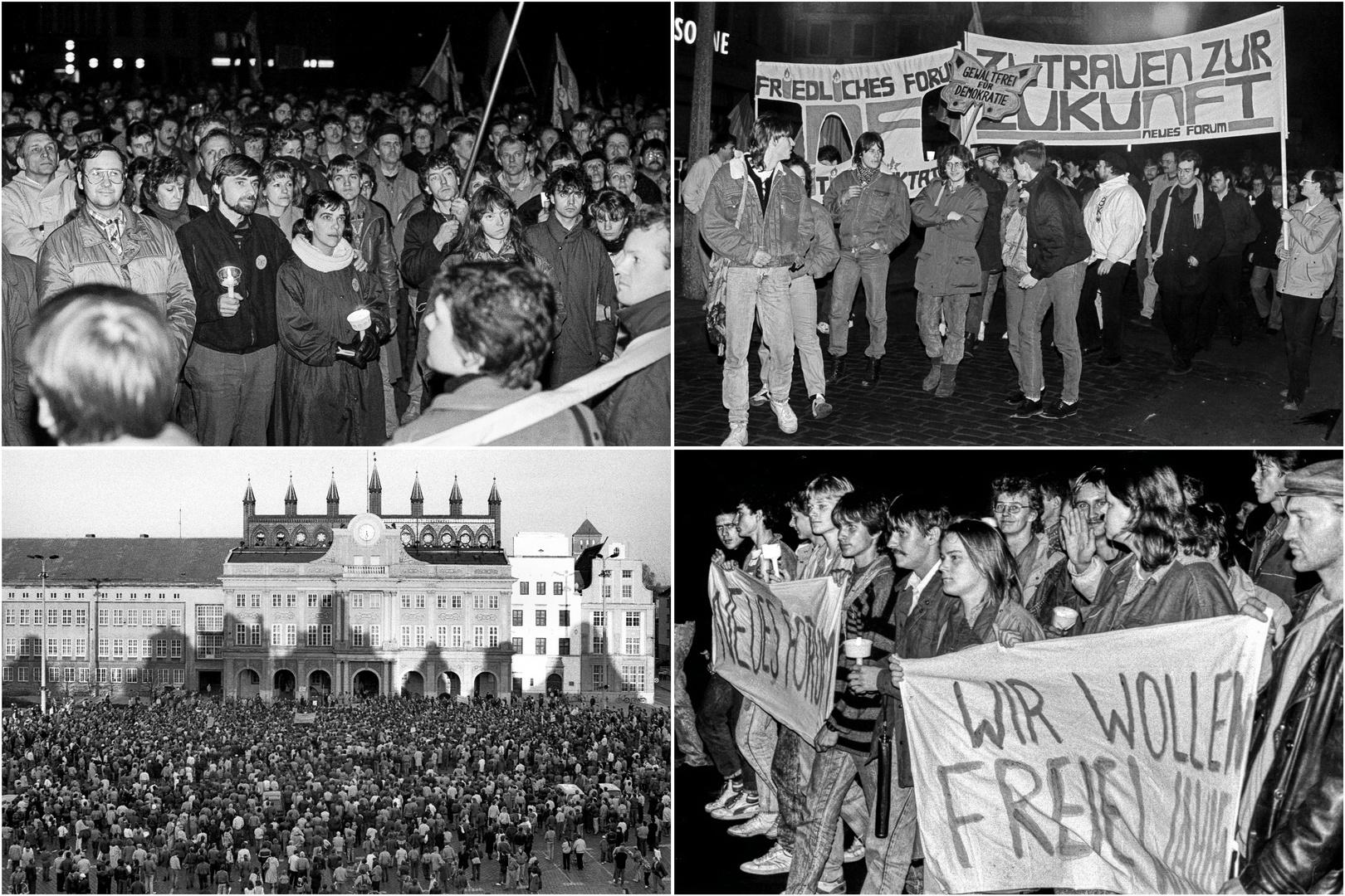 Rostocker zeigt Fotografien von der Wende
