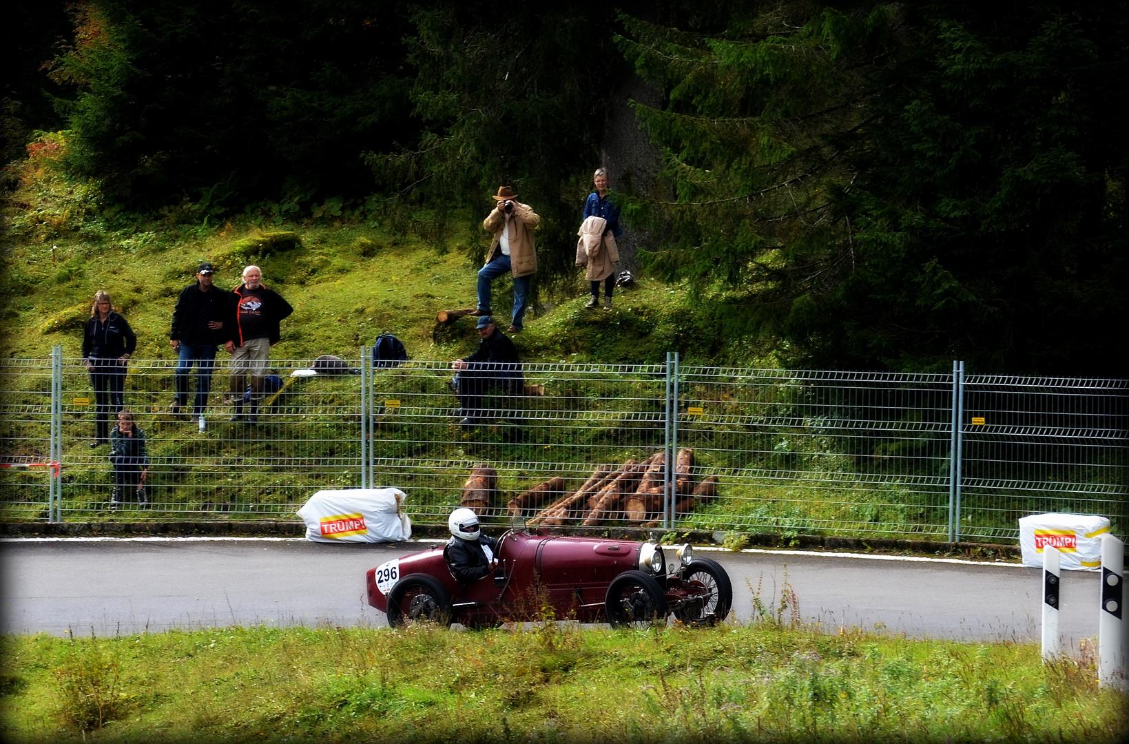 Rot Bugatti Bergrennen Klausenpass