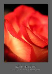 Rot ist die Liebe