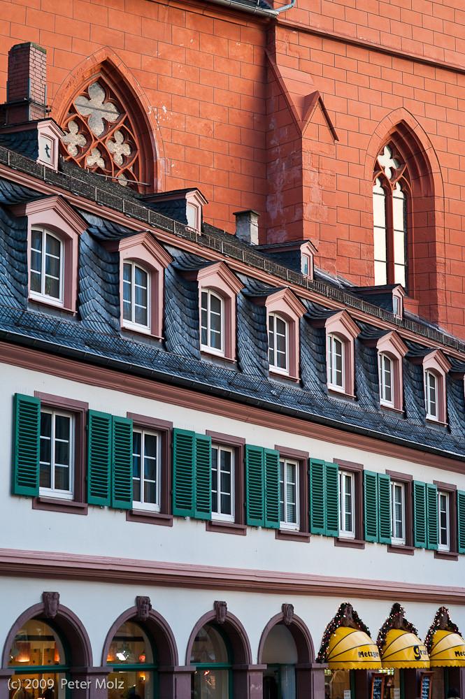 Rot-schwarz-grün-gelb / Mainz 2009