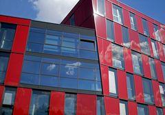 rot, wolkig und schön......