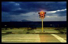 Rote Ampel bei Capri