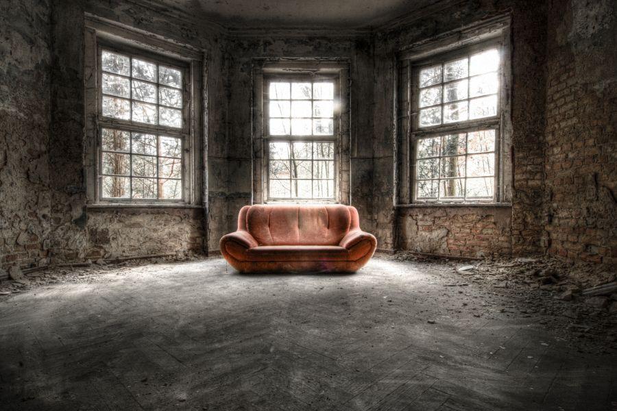 Rote Couch Am Grabowsee Foto Bild Architektur Lost Places