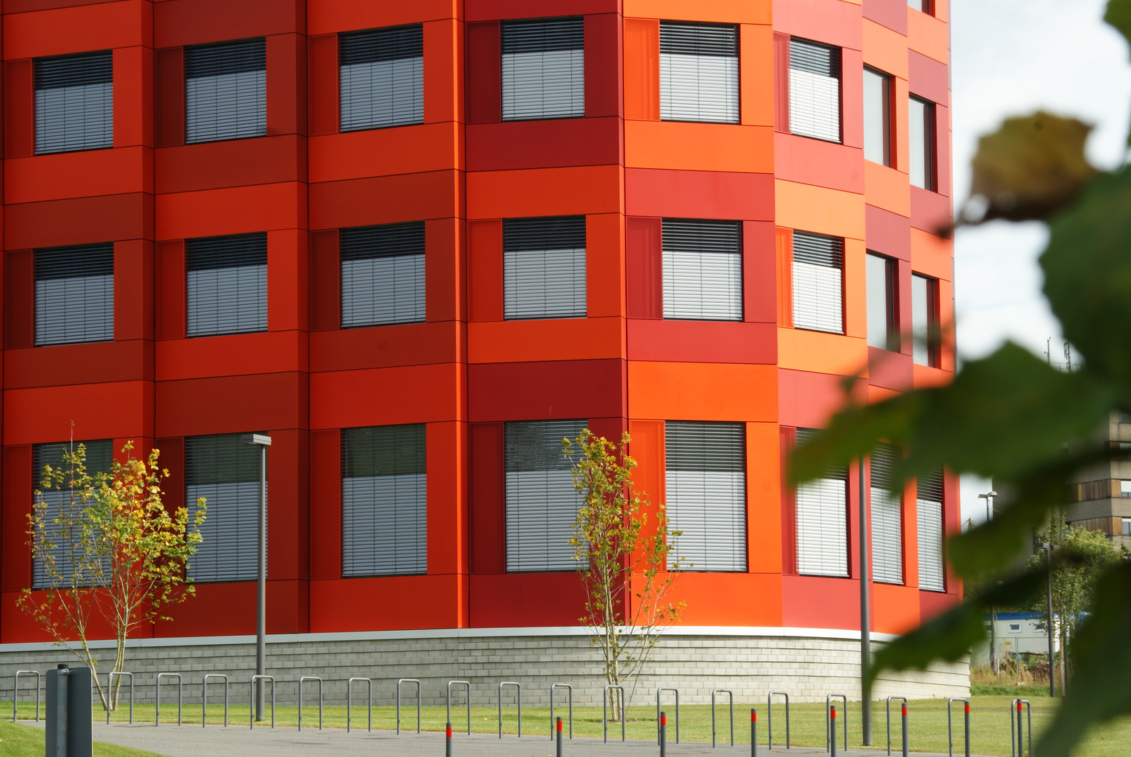 Rote Fassade Foto Bild Architektur Rot Fassade Bilder