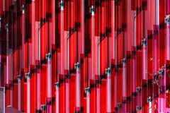 Rote Fassade