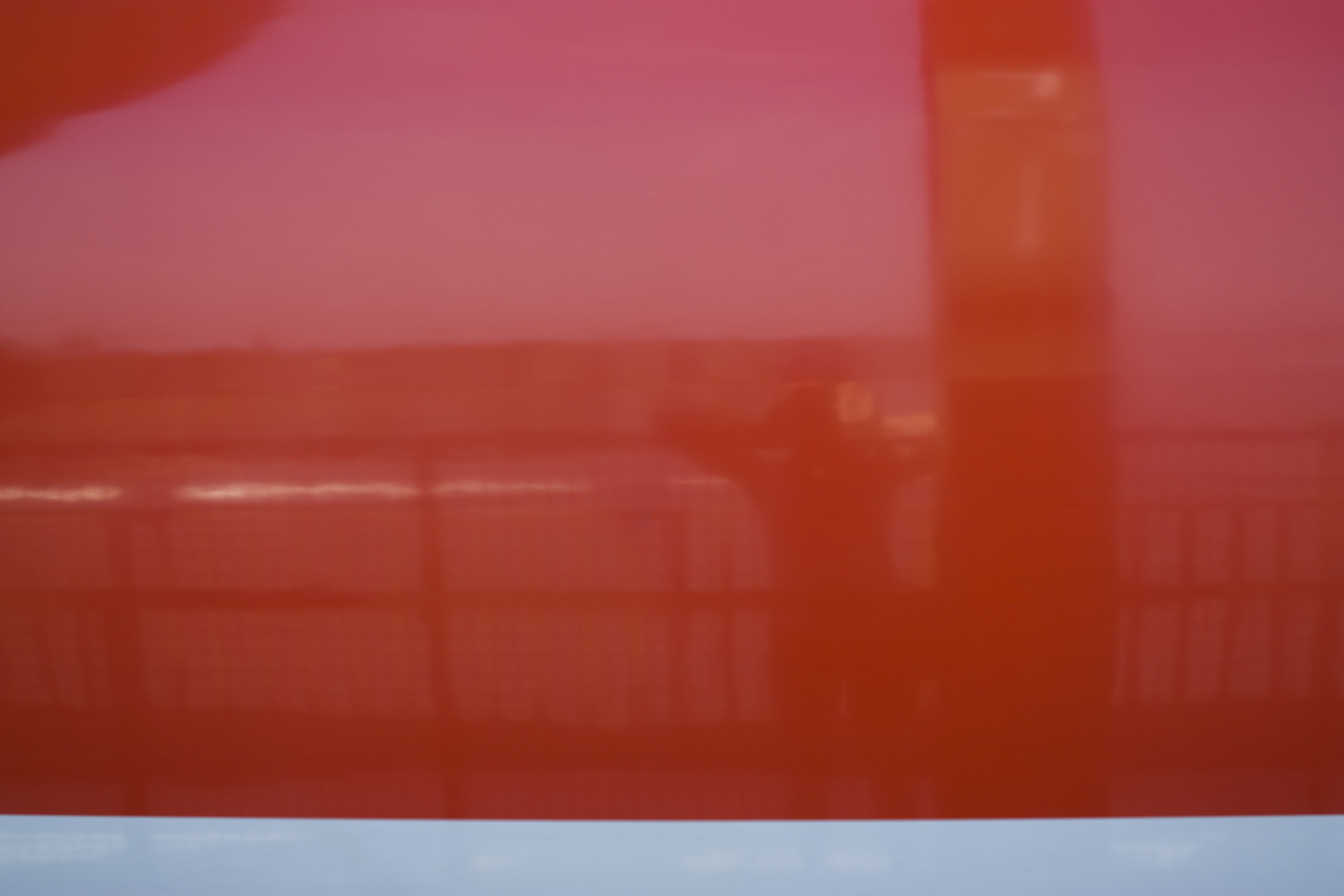 rote fläche