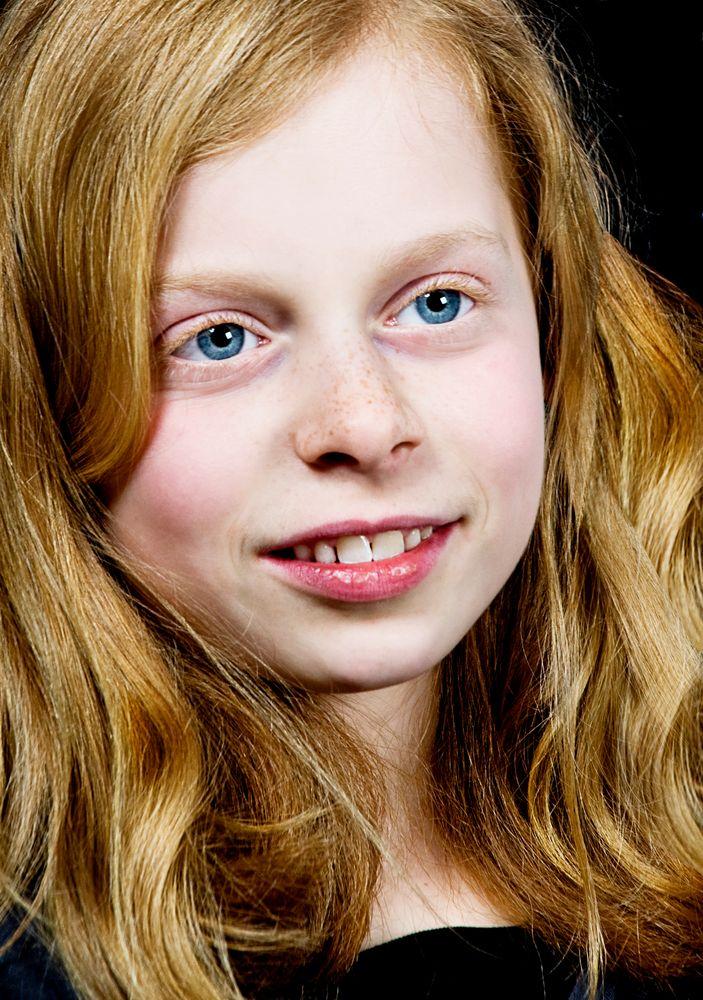 rote Haare-blaue Augen Foto & Bild | kinder, kinder im