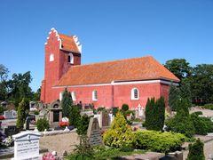 rote Kirche in Dänemark