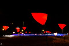 Rote Lampen 1
