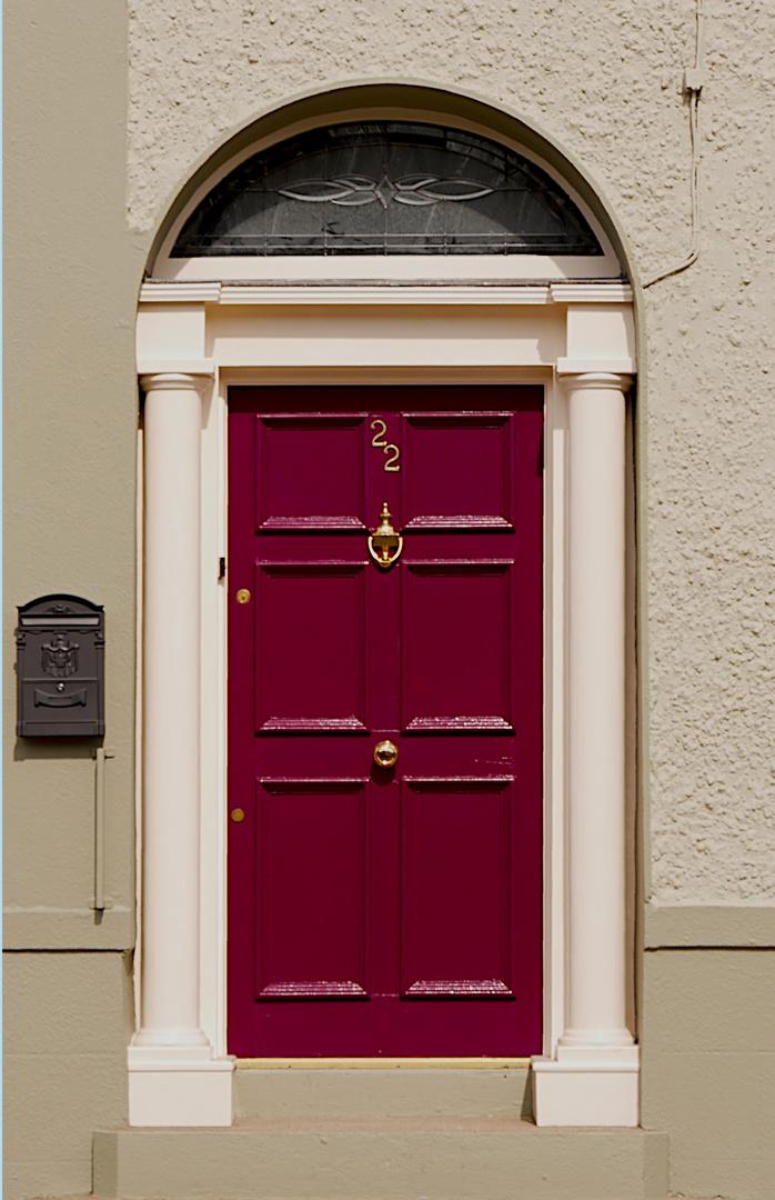 Rote Türe in Dundalk