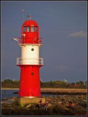 roter Leuchtturm