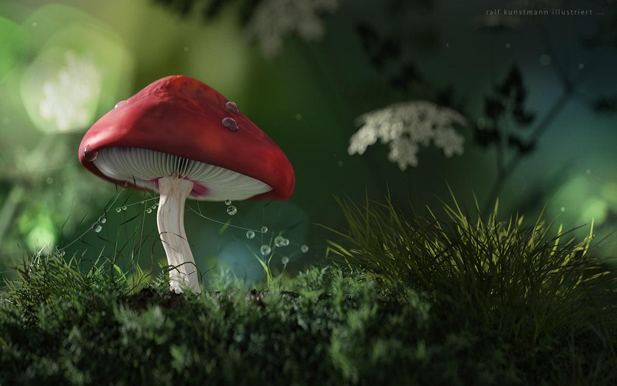 Roter Märchenschupfling