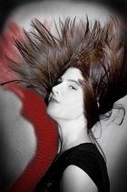 Roter Schatten