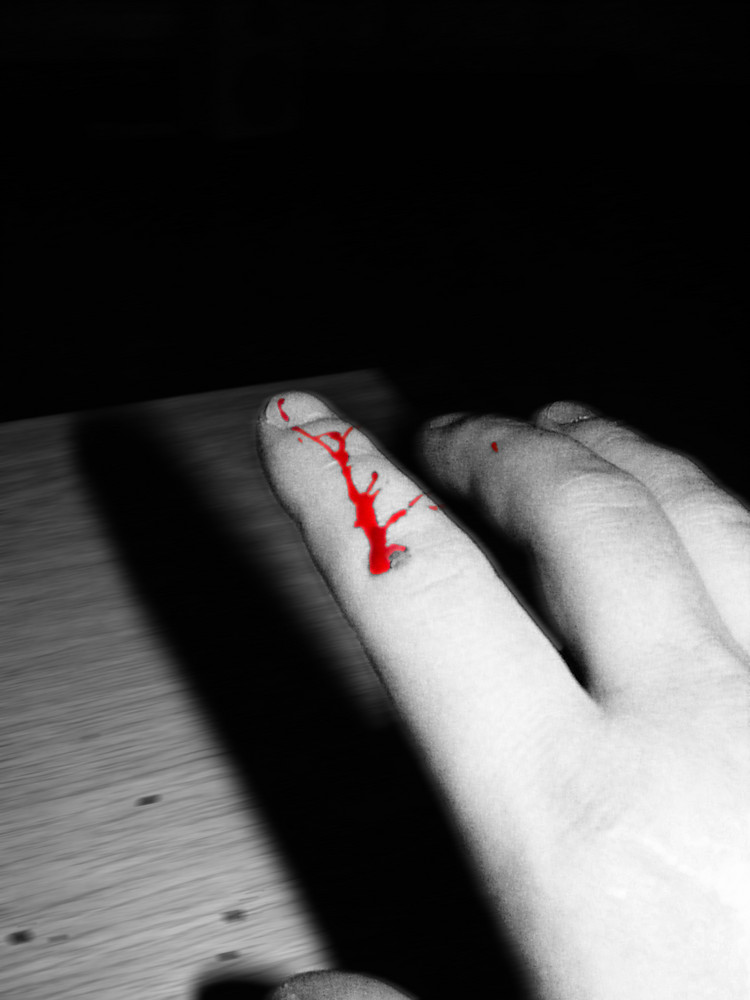 rotes blut