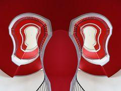 rotes Doppel