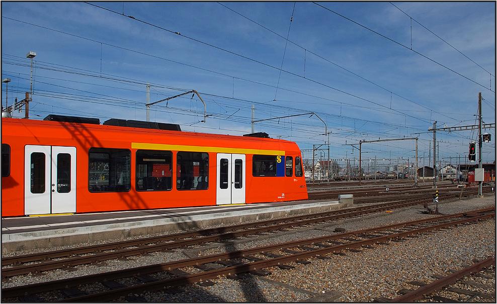 Rotes Licht für roten Zug
