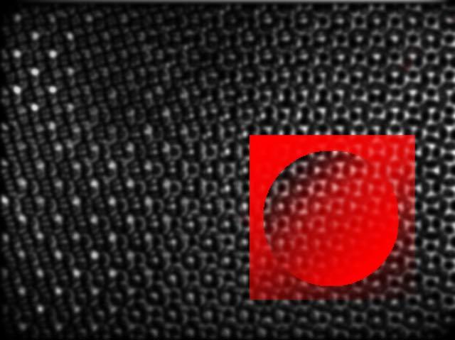 Rotes Quadrat
