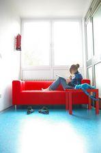 Rotes Sofa II