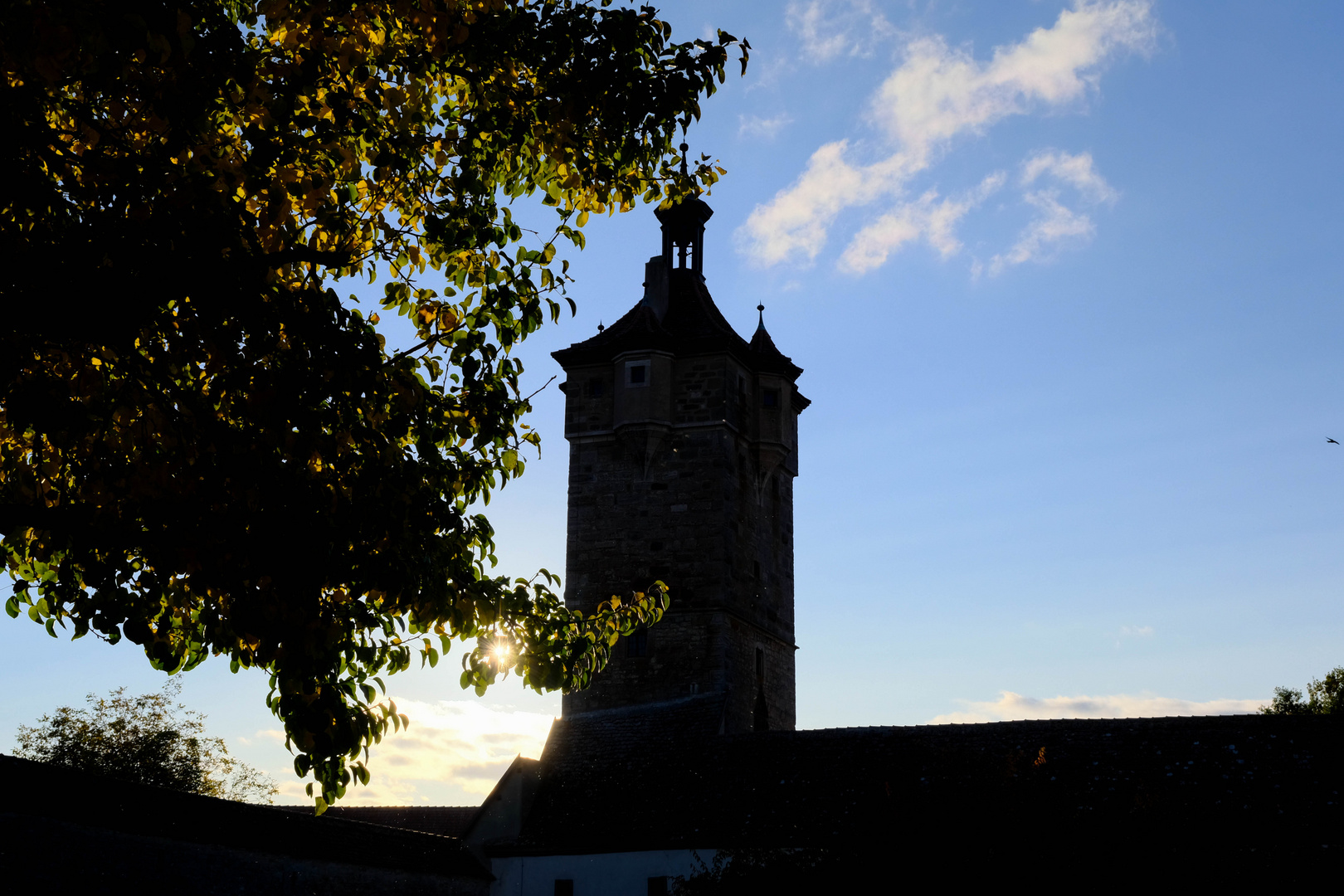 Rothenburg im Herbst