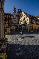 Rothenburg ob der Tauber - am Markusturm