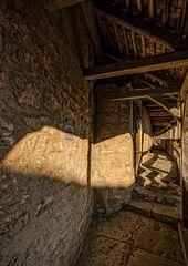 Rothenburg ob der Tauber - auf der Stadtmauer