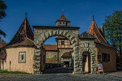 Rothenburg ob der Tauber - das Rödertor