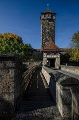 Rothenburg ob der Tauber - der Röderturm