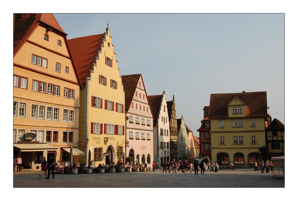 Rothenburg ob der Tauber I