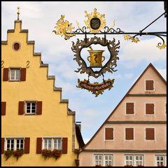 Rothenburg VII  -  Historischer Dreizack