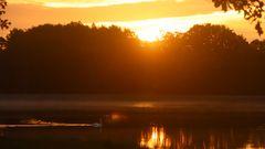 Rothsee beim Sonnenaufgang
