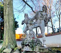 Rotkopf-Görg-Denkmal auf Schloss Burgk-Freital