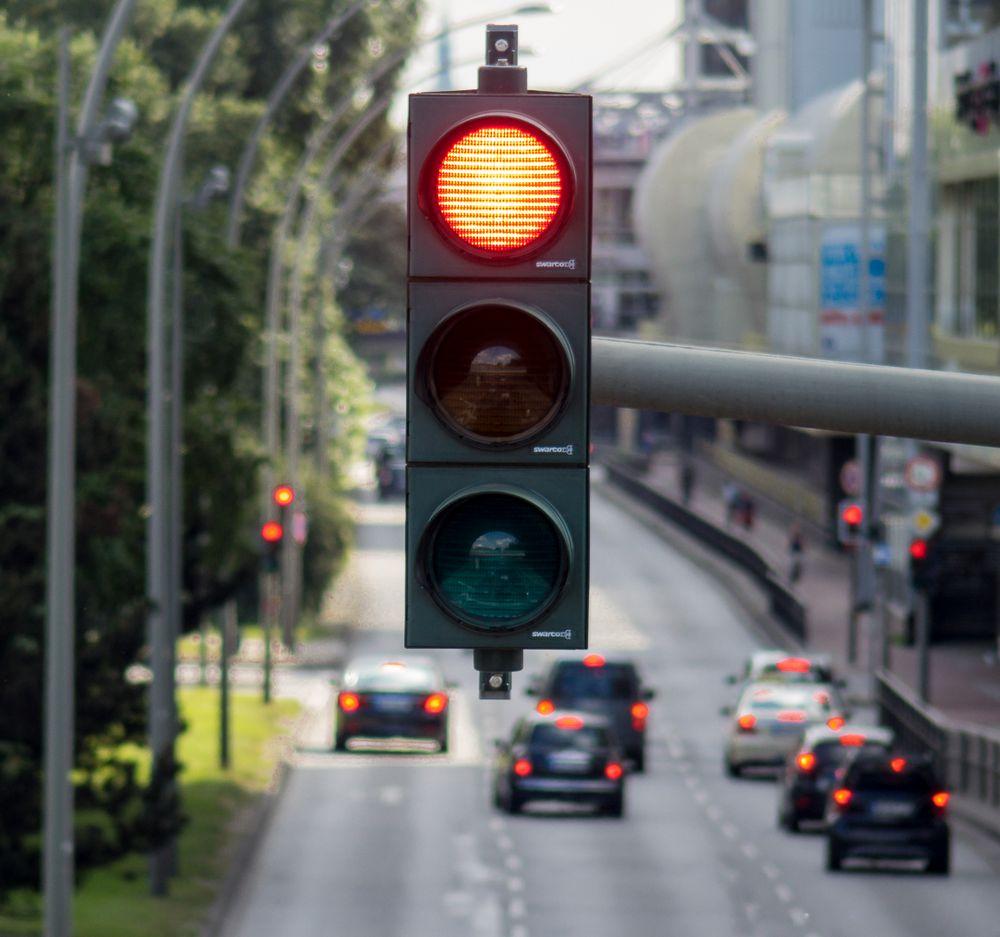 Rotlichtviertel Foto & Bild   strasse, lichter, autos