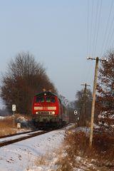 Rottal-IC im Schnee