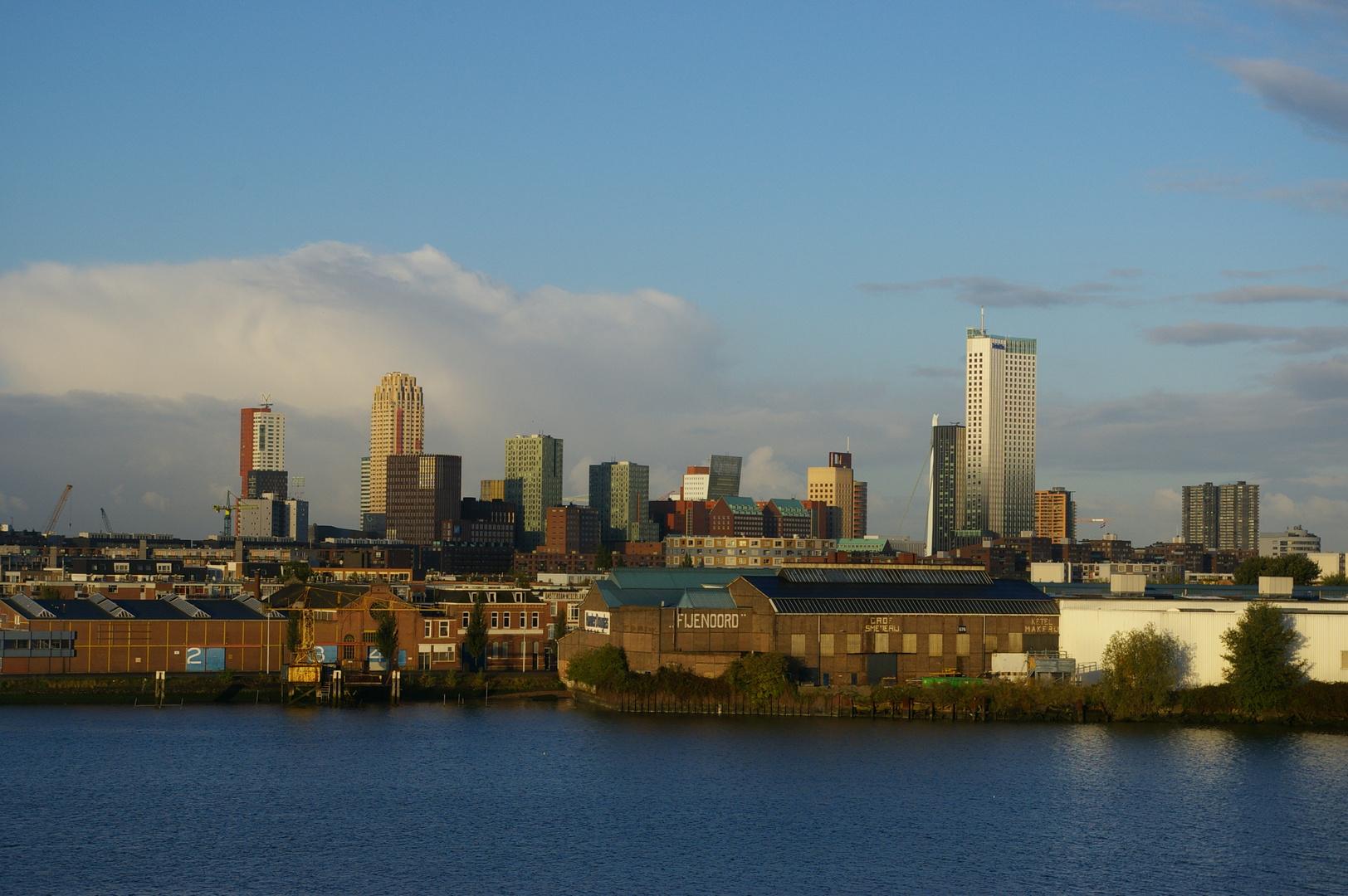 Rotterdam am Morgen